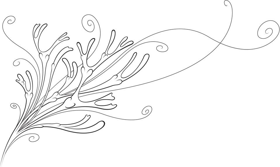 Line Drawing Kelp : Seaweed drawings coloring pages
